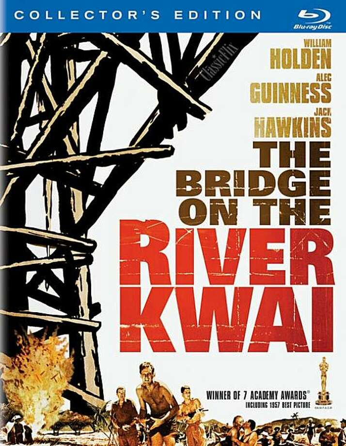 dvd cover THE BRIDGE ON THE RIVER KWAI Photo: Amazon.com
