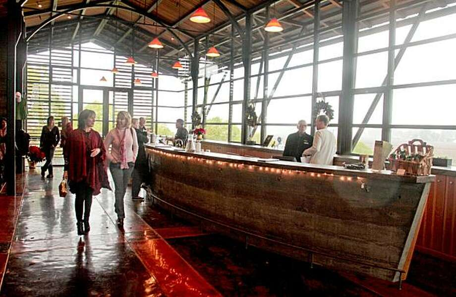 The Stryker Sonoma winery tasting room in Geyserville , Calif., is seen on Sunday, Dec. 5, 2010. Photo: John Storey, Special To The Chronicle