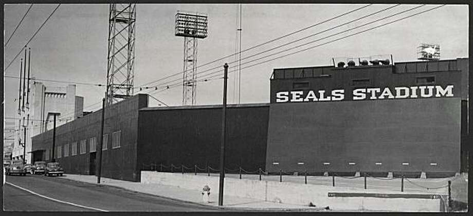 Seals Stadium.  Photo was taken April 3, 1951. Photo: SF Chronicle Archive, The Chronicle