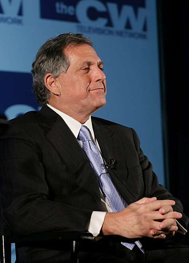 Leslie Moonves, chairman, president and CEO, CBS Television Network, announces the new CW television network at a news conference in New York on Tuesday, January 24, 2006. CBS Corp. and Time Warner Inc. agreed to combine the unprofitable UPN and WB television networks, seeking to create a stronger competitor to the top four broadcasters after struggling to draw audiences on their own. Photographer: John Marshall Mantel/Bloomberg News Photo: John Marshall Mantel, Bloomberg News