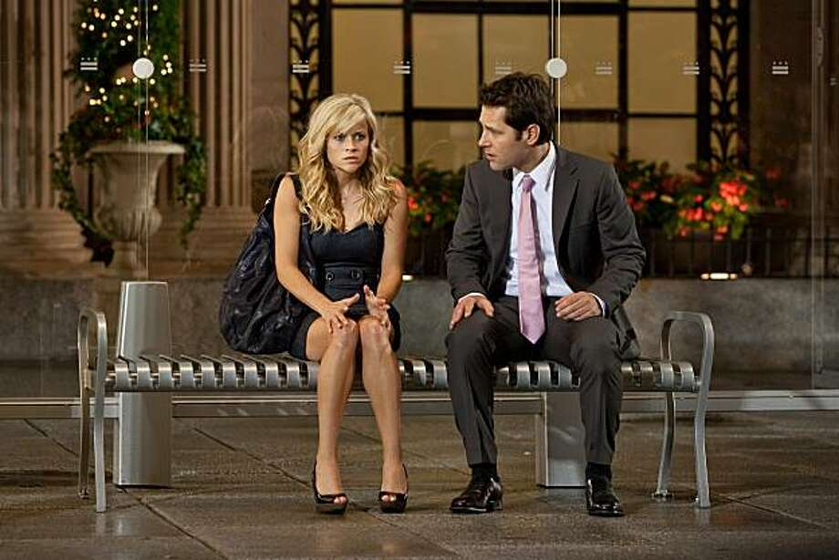 "Reese Witherspoon and Paul Rudd star in Columbia Pictures' ""How Do You Know,"" also starring Owen Wilson and Jack Nicholson. Photo: David James, Columbia TriStar"