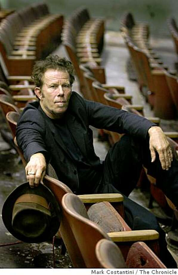 PORTRAIT OF SINGER TOM WAITS Photo: Mark Costantini, The Chronicle
