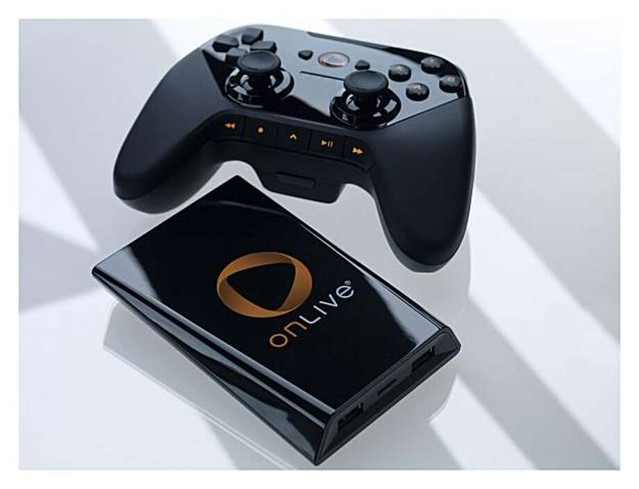 In this product image provided by Onlive, the Onlive MicroConsole is displayed. Photo: AP