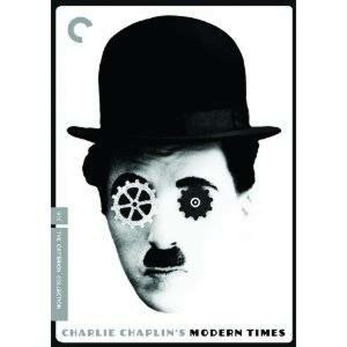dvd cover MODERN TIMES