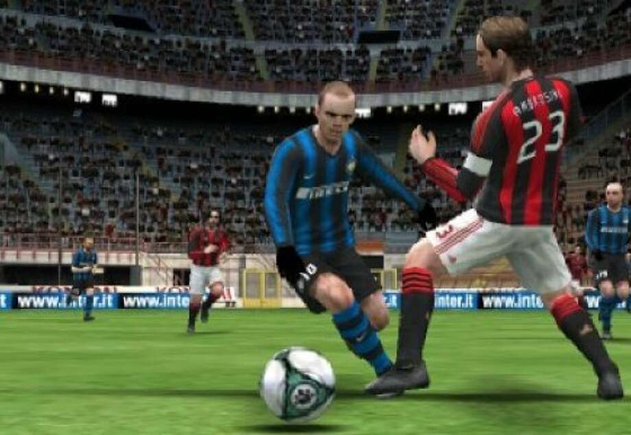 Pro Evolution Soccer 2011 3D is a new game for the Nintendo 3DS. Photo: Courtesy Konami