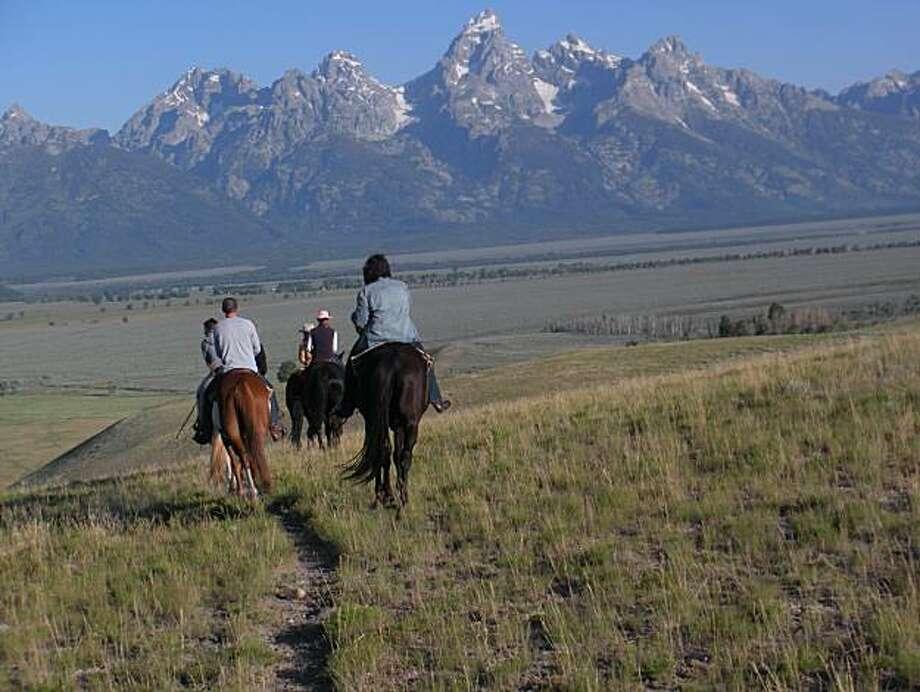 Gros Ventre River Ranch, Moose, Wyoming: Photo: Jaxon Van Derbeken, The Chronicle