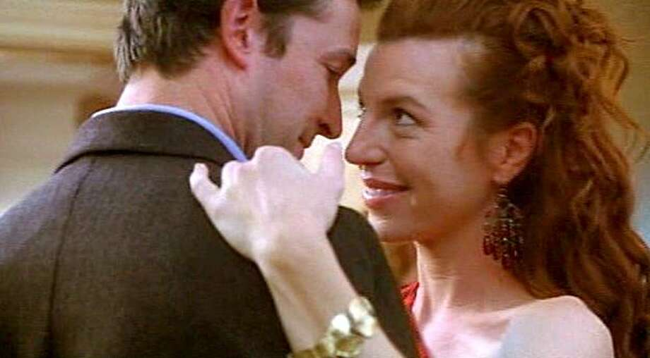 "Noah Wyle and Tanna Frederick appear in a scene from, ""Queen of the Lot."" Photo: Courtesy Of Rainbow Releasing"