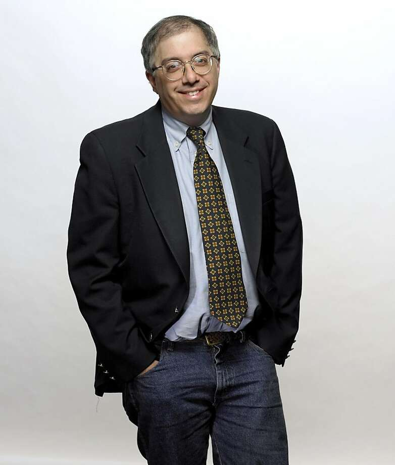 """Steven Levy, author of """"The Perfect Thing,'' poses in an undated handout photo. Photographer: Damien Donck/Newsweek, Source: Simon & Schuster via Bloomberg News Photo: Simon & Schuster, Bloomberg News"""