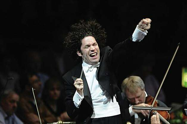 Gustavo Dudamel and the LA Philharmonic will be among the orchestras performing at Davies Symphony Hall as part of the San Francisco Symphony's centennial Photo: Chris Christodoulou, SF Symphony