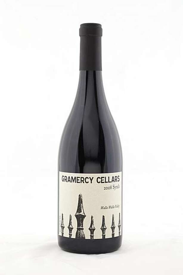 2008 Gramercy Cellars Walla Walla Valley Syrah as seen in San Francisco, California, on November 17, 2010. Photo: Craig Lee, Special To The Chronicle