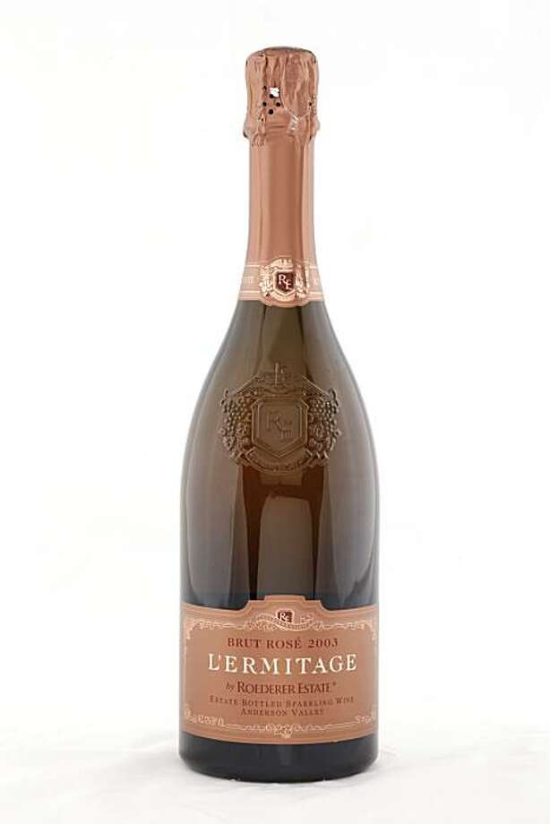 2003 L'ermitage Roederer Estate Brut Rose as seen in San Francisco, California, on November 17, 2010. Photo: Craig Lee, Special To The Chronicle