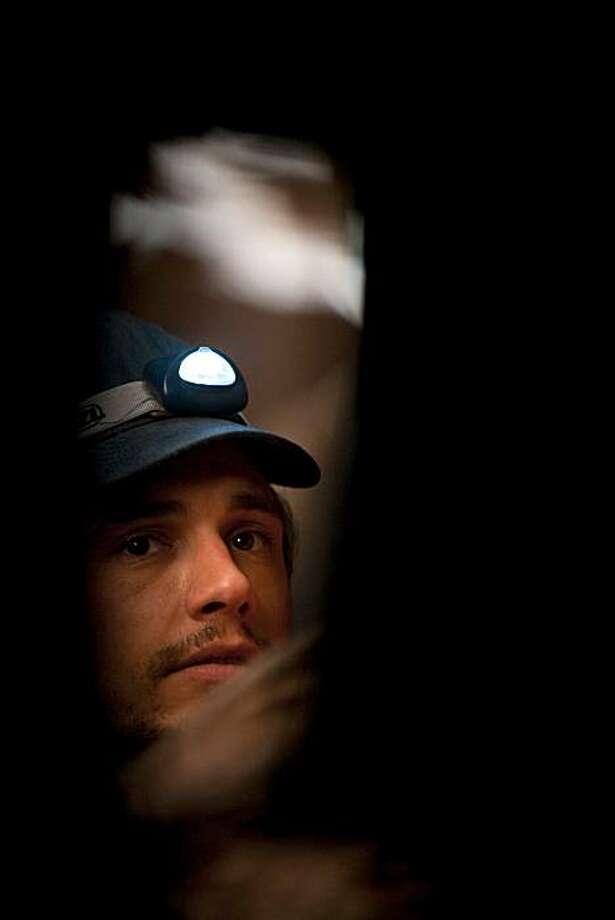 James Franco in 127 HOURS Photo: Chuck Zlotnick, Opulence Studios