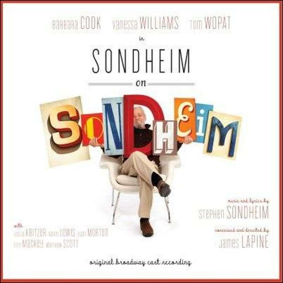 "CD cover: ""Sondheim on Sondheim."" Photo: P.S. Classics"