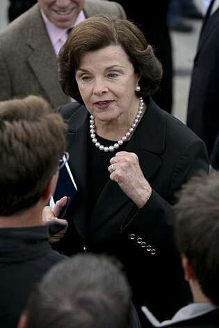 Senator Dianne Feinstein Photo: John Sebastian Russo, The Chronicle