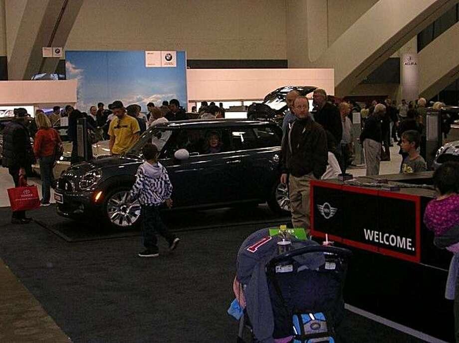 The 2010 Mini Cooper at the S.F. International Auto Show 2010. Photo: Kevin Diamond