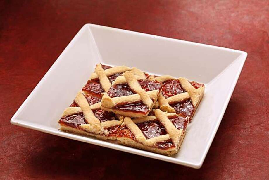 Linzer Torte: With a crisscross top, these come out looking rustic and homemade. Click here for the recipe. Photo: Craig Lee, Special To The Chronicle