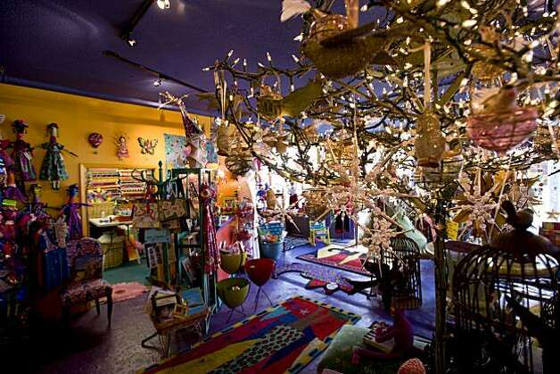 The store Tessuti Zoo is seen with its Christmas decorations in Pacific Grove, Calif., on Wednesday, November 17, 2010. Photo: Chad Ziemendorf, Special To The Chronicle