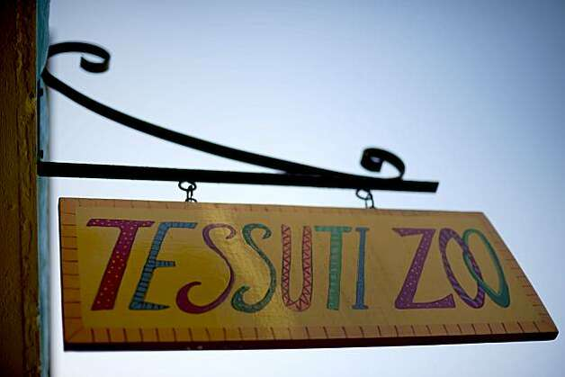 The store Tessuti Zoo is seen in Pacific Grove, Calif., on Wednesday, November 17, 2010. Photo: Chad Ziemendorf, Special To The Chronicle