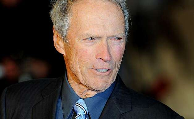 (FILE) This picture taken on January 31, 2010 shows US actor/director Clint Eastwood arriving in London's Leicester Square, to attend the British Premiere of his latest film ' Invictus'. Eastwood won the Best Foreign Movie Award during the 35th Cesars French film awards ceremony on February 27, 2010 at the Chatelet theatre in Paris.AFP Photo/Max Nash (Photo credit should read MAX NASH/AFP/Getty Images) Photo: Max Nash, AFP/Getty Images