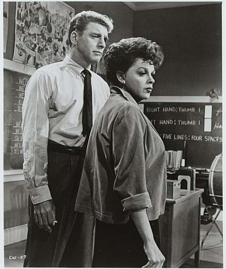 "Burt Lancaster and Judy Garland in ""A Child Is Waiting."" Photo: United Artists 1963"