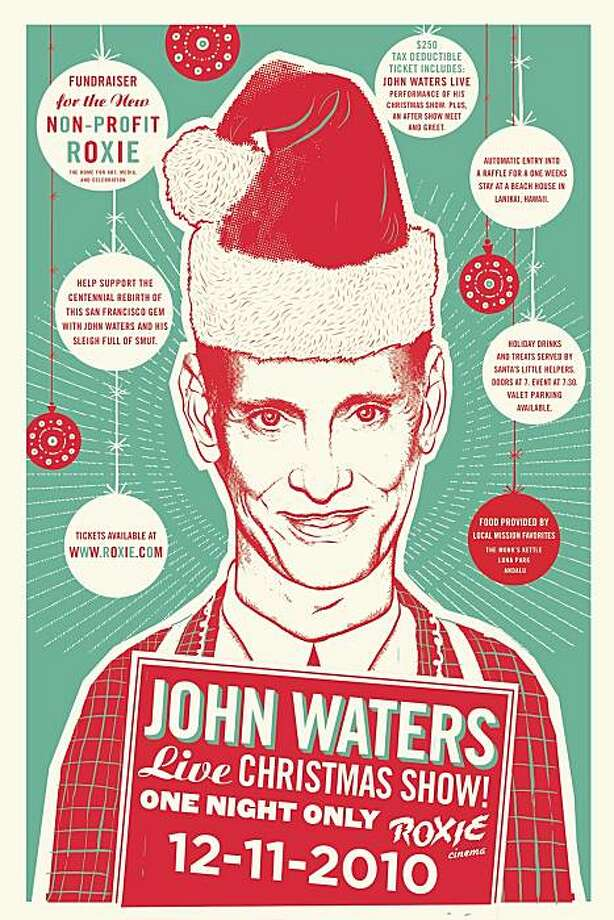 John Waters Xmas for 5 Things. Photo: Courtesy Roxie Theater