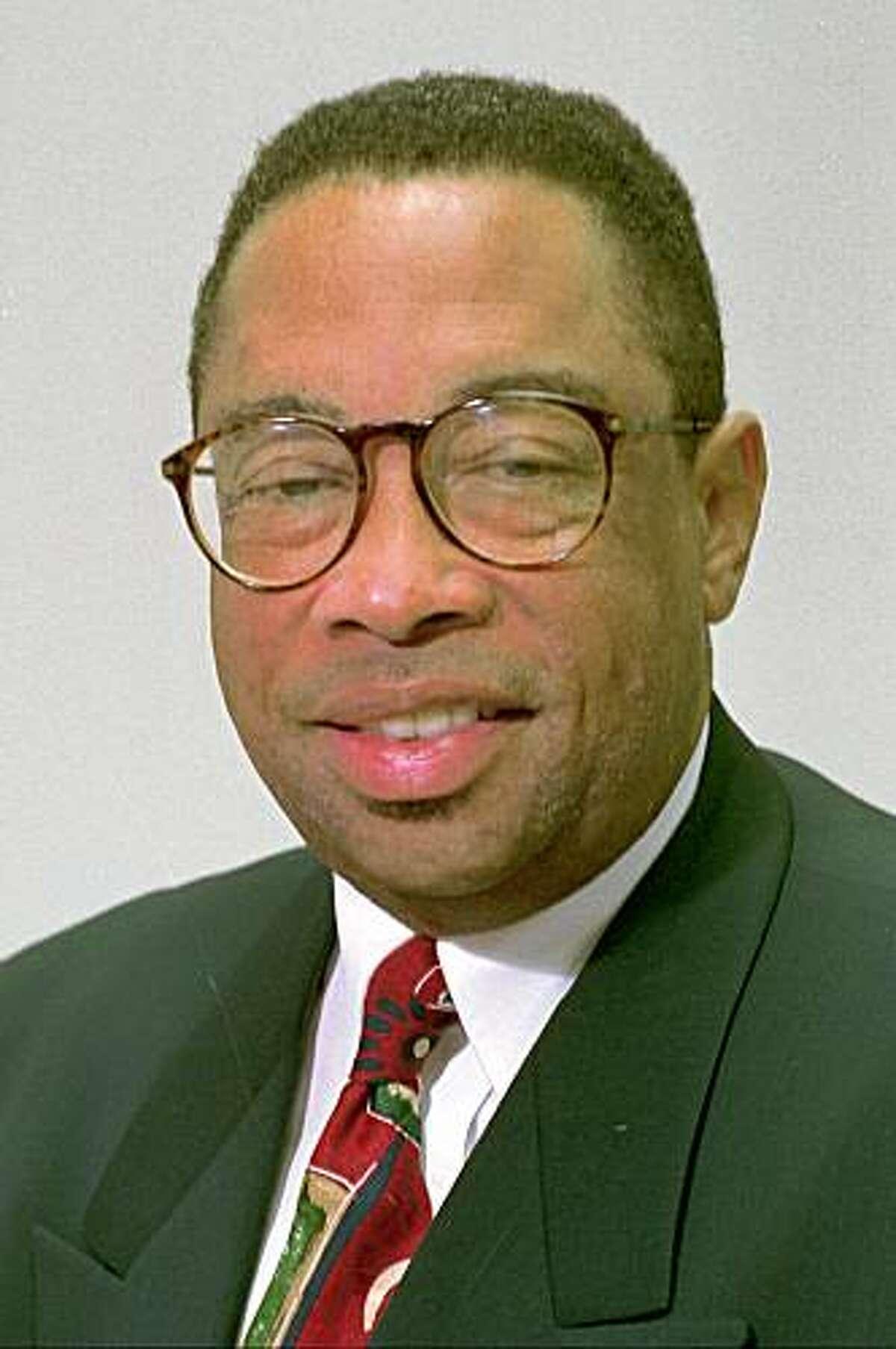 FILE--Oakland Mayor Elihu Harris appears in a Sept. 29, 1994, photo in Oakland, Calif.