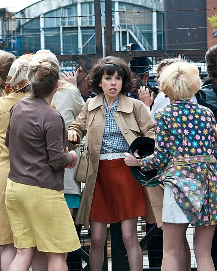 "Sally Hawkins as Rita in ""Made in Dagenham."" Photo: Susie Allnutt, Courtesy Of Sony Pictures Classi"