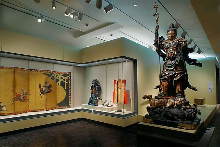 a view of the Japan galleries at the Asian Art Museum, San Francisco  Photo: Kaz Tsuruta, Asian Art Museum, S.f.