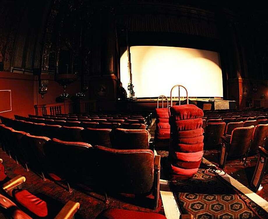 "Castro renovation from ""Left in the Dark: Portraits of San Francisco Movie Theatres."" Photo: R.A. McBride"