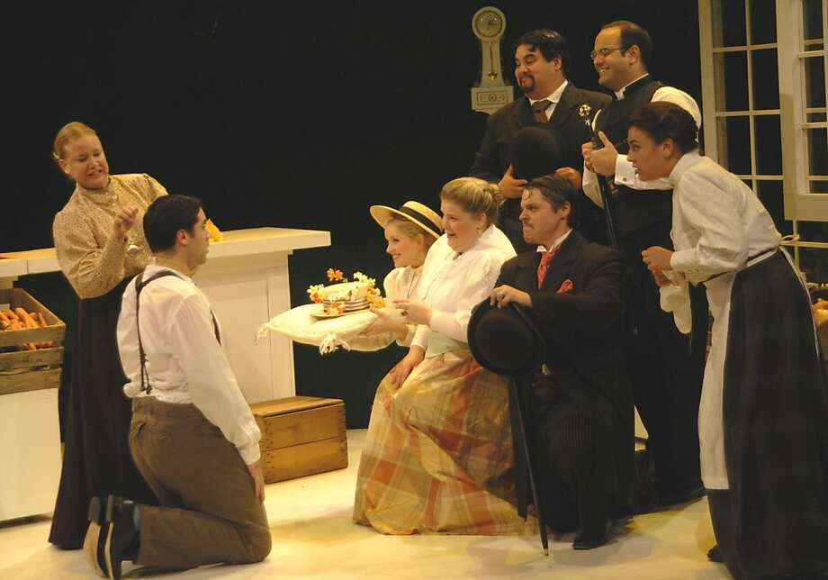 "Cast members of the Castleton Festival Opera production of Britten's ""Albert Herring"" Photo: F&E Schmidt"
