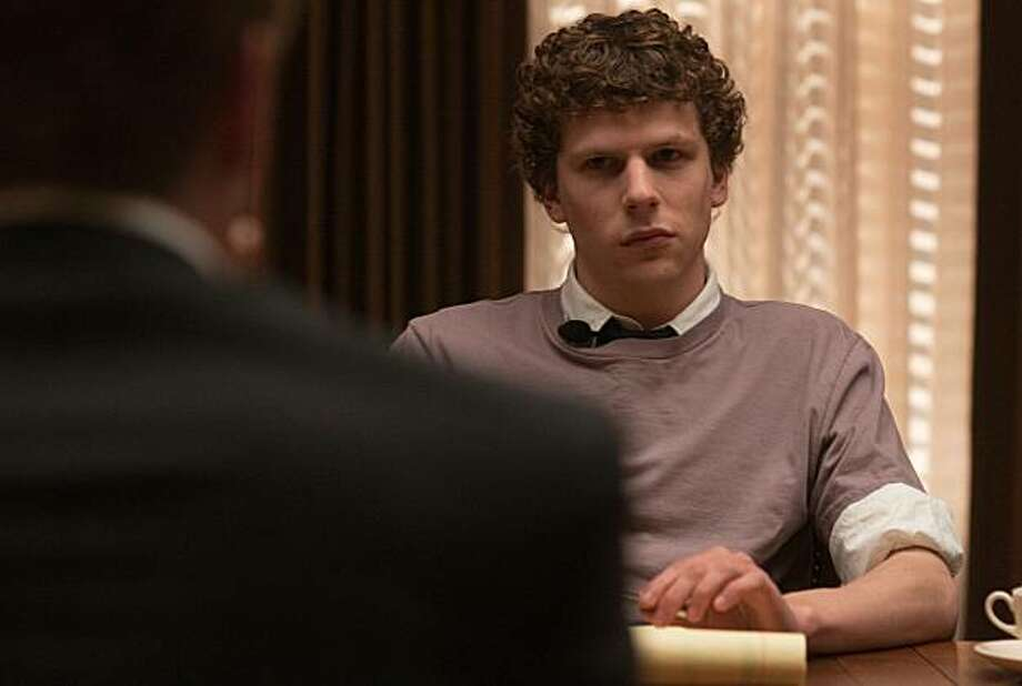 "Jesse Eisenberg stars in Columbia Pictures' ""The Social Network."" Photo: Merrick Morton, Columbia Pictures"