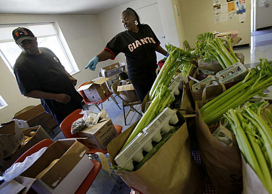 Sf Food Bank Keeping Up With The Times Sfgate