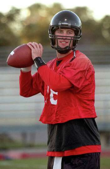 SPORTS DAILY  --  Texas Tech's Quarterback Kliff Kingsbury during practice Sunday evening at Stevens