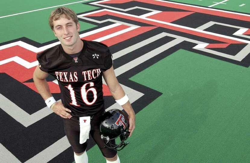 Texas Tech Red Raider's Heisman hopeful quarterback Kliff Kingsbury. Special to Express-News / Sean
