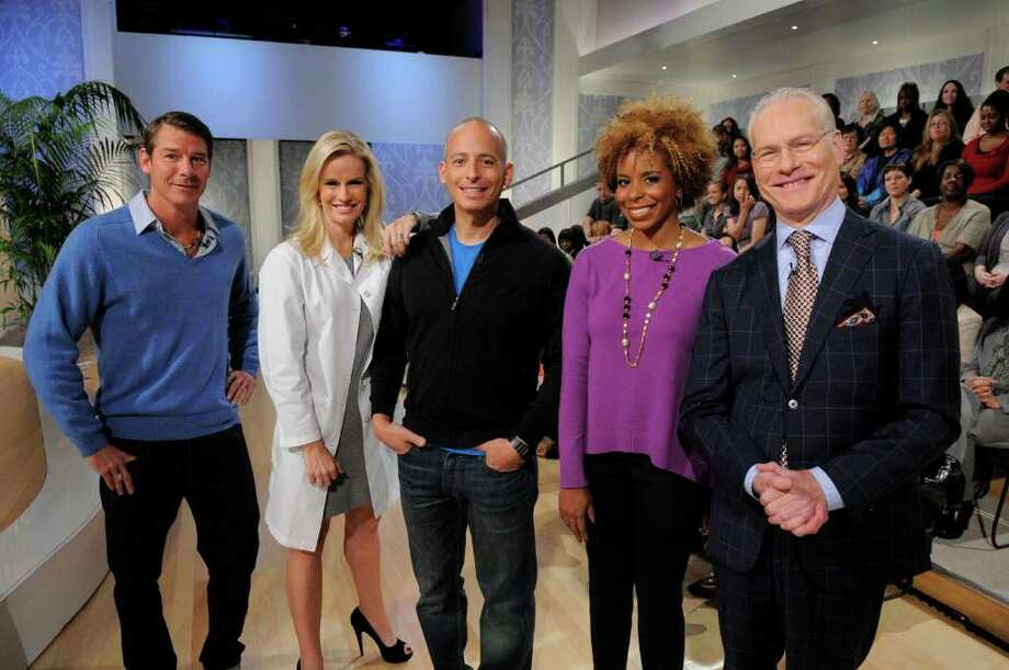 "The hosts of ABC's new daily talk show, ""The Revolution,"" are Ty Pennington, from left, Dr. Jennifer Ashton, Harley Pasternak, Dr. Tiffanie Davis Henry and Tim Gunn. The show debuts on Monday. Photo: ABC / ©2011, American Broadcasting Companies, Inc. All rights reserved."