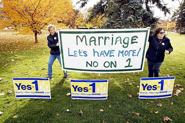 from Colt maine says no to gay marriage