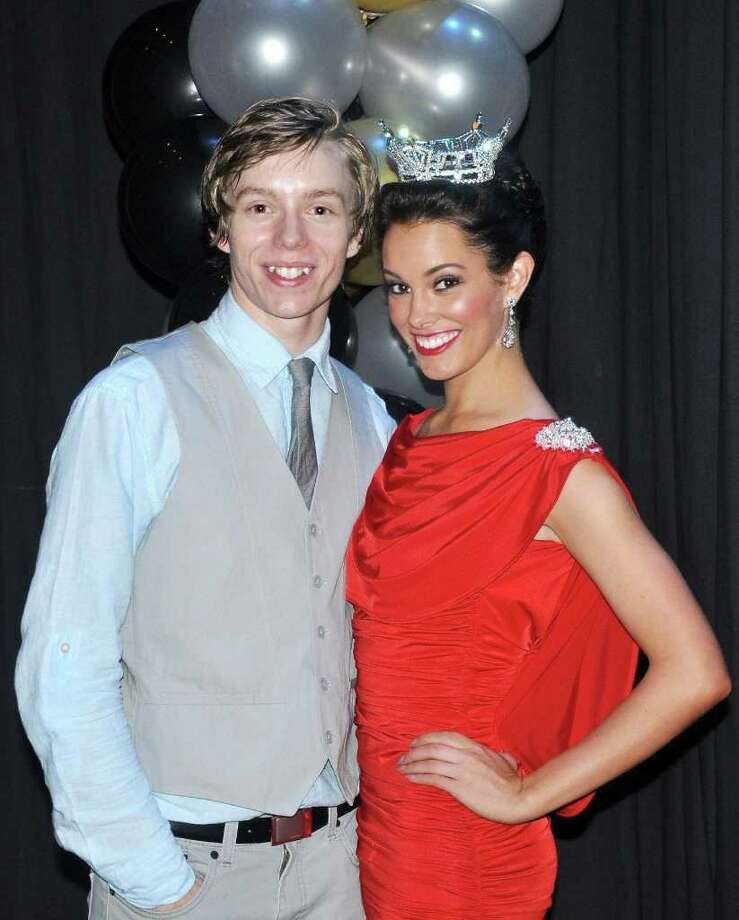 Courtesy PROUD BROTHER: Houston Ballet Academy student Dylan Lackey with his sister, Michaela Grace Lackey, who is Miss Georgia in the 2012 Miss America contest. Photo: Handout