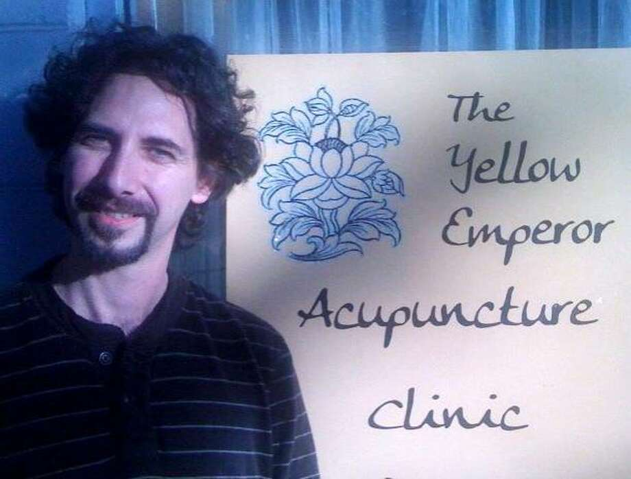 """Acupuncturist Joseph Davis says, """"The sliding scale is a very appropriate model for medicine in these times."""" Photo: Rob Baedeker"""