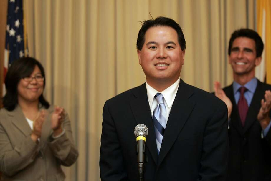 One of S.F's mayoral candidates 2011: Phil Ting--City Assessor who's keyed his campaign on populist issues like high parking tickets. Photo: Lance Iversen, The Chronicle