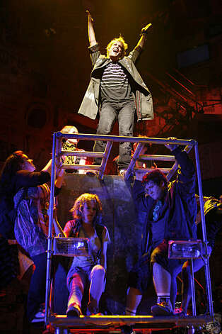 "Final dress rehearsal for Berkeley Rep's Roda Theatre world premiere of ""American Idiot, "" a new musical adaptation of Green Day's  album of same name, directed by Michael Mayer in Berkeley, Calif., on Thursday, September 3, 2009. Photo: Liz Hafalia, The Chronicle"
