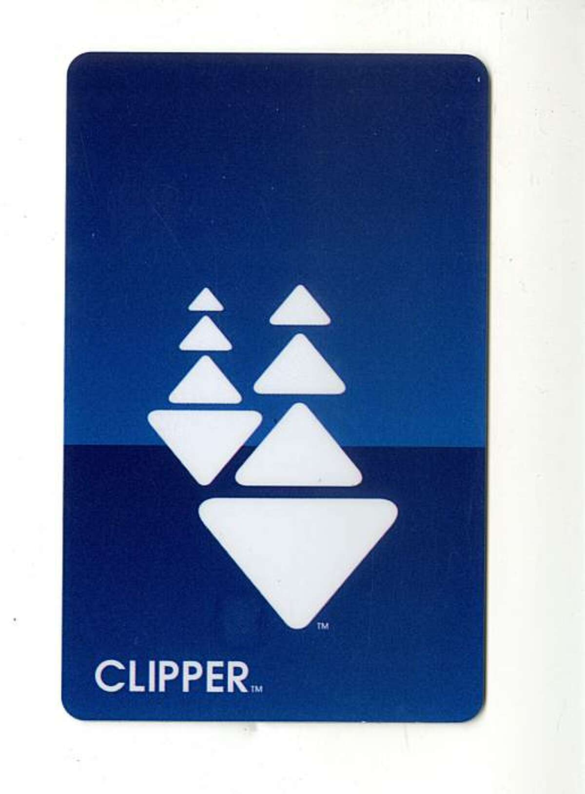 The Clipper transit card