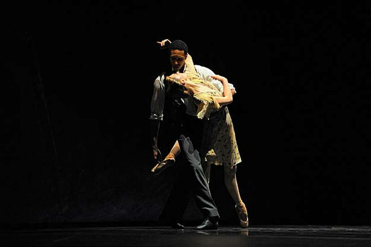 Sarah Van Patten and Anthony Spaulding in Tomasson's Nanna's Lied.