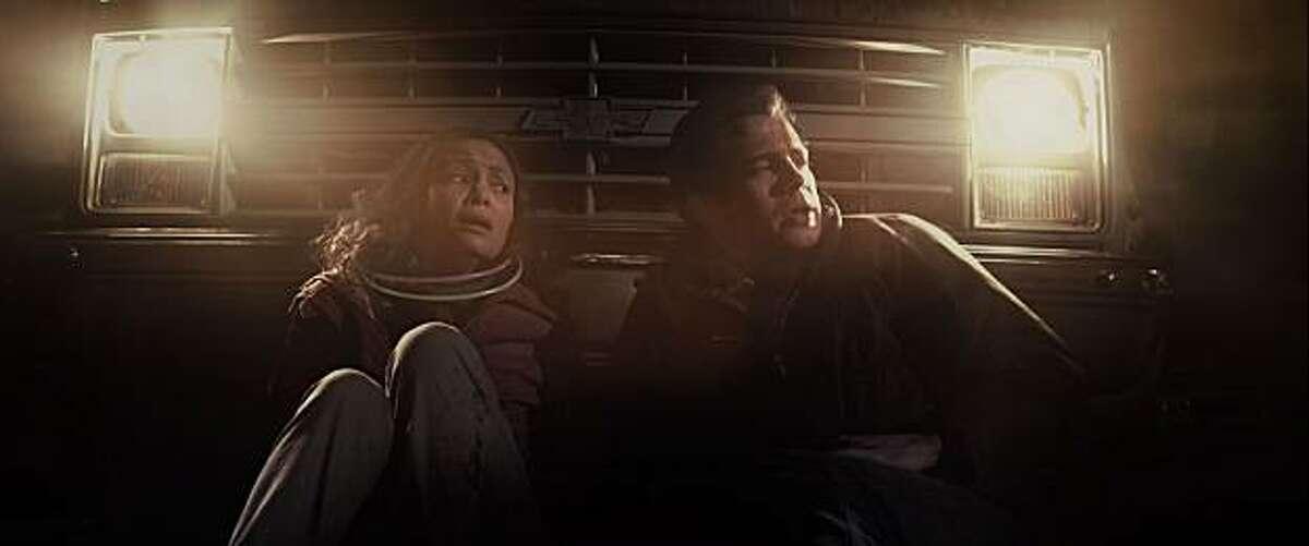 Thandie Newton and Hayden Christensen in VANISHING ON 7TH STREET, a Magnet Release.