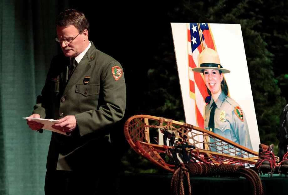 24. Ranger: Mount Rainier National Park Ranger Margaret Anderson was killed on New Year's Day by a gunman on the run after a shooting elsewhere. Her killer, Benjamin Colton Barnes, died of exposure after fleeing into the snowy park. Photo: Elaine Thompson / AP