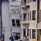 Taken in the days following the Loma Prieta earthquake, this reader-submitted photo conveys the destruction San Francisco's Marina District suffered.