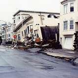 A reader-submitted photo taken in the days after the devastating Loma Prieta earthquake.