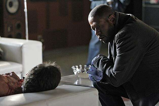 """Lonely Hearts"" -- Sam Cooper (Forest Whitaker) gets an upclose look at a body, on CRIMINAL MINDS SUSPECT BEHAVIOR, Wednesday, February 23 (10:00-11:00, ET/PT) on the CBS Television Network. Photo: Jordin Althaus, ABC Studios"