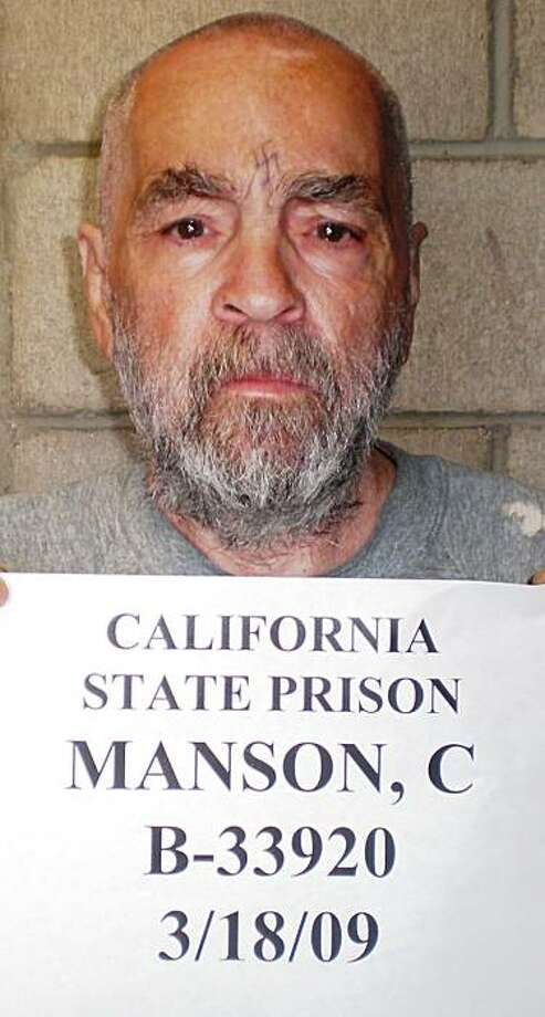 In March 18, 2009 handout photo is cult killer Charles Manson  who has been one of the thousands of prison inmates who have used unauthorized cell phones to make calls around the nation. California prison officials are preparing to test a system that would capture every cell phone signal from a prison and block unauthorized calls. Photo: AP