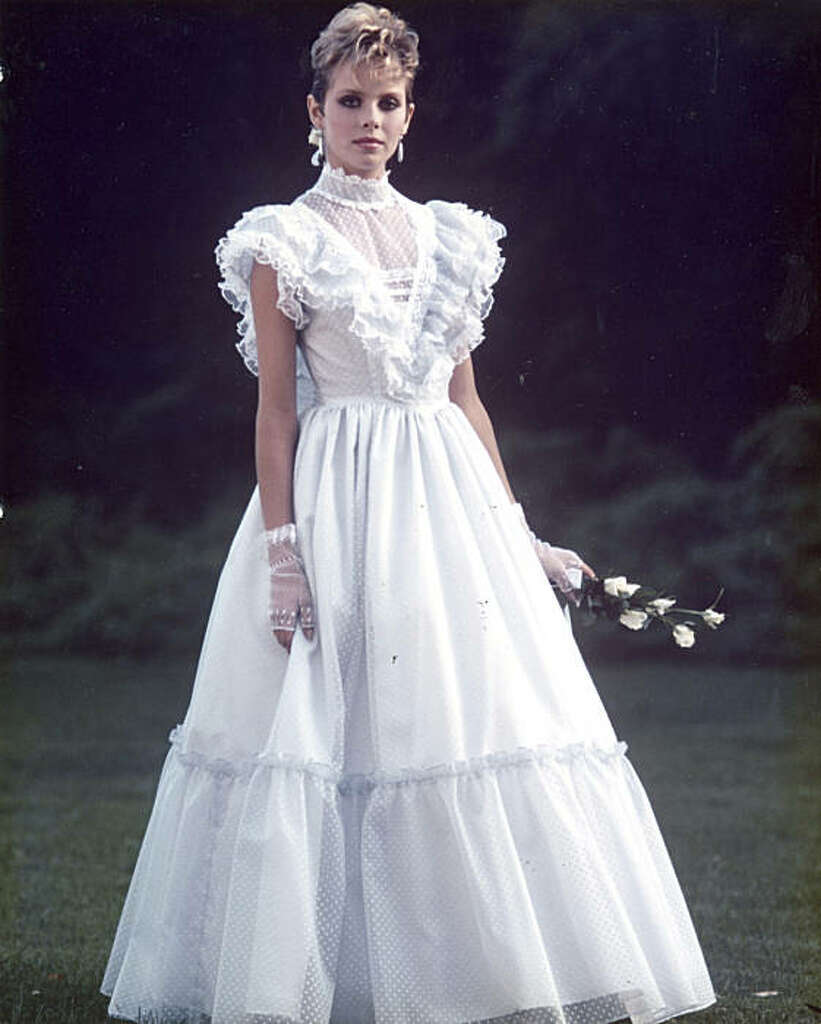 Wedding Dresses in the 1980s
