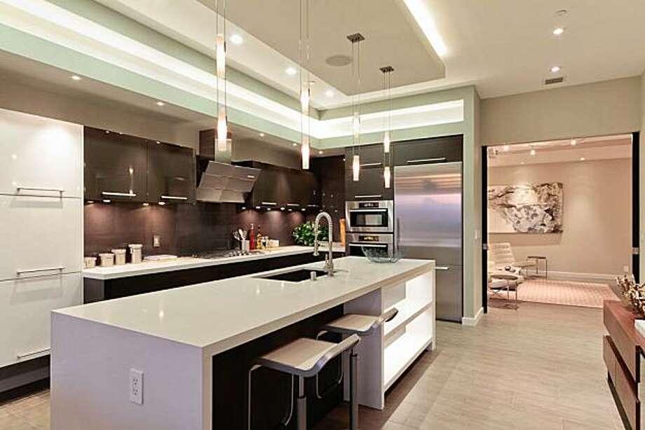 Brand new three level condo in san francisco sfgate - Kitchen appliances san francisco ...